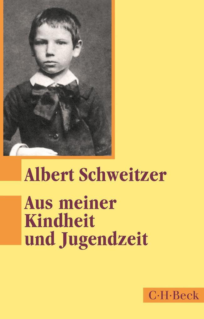Aus meiner Kindheit und Jugendzeit als eBook