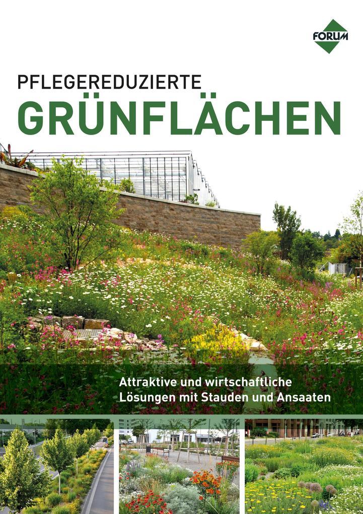 Pflegereduzierte Grünflächen als eBook