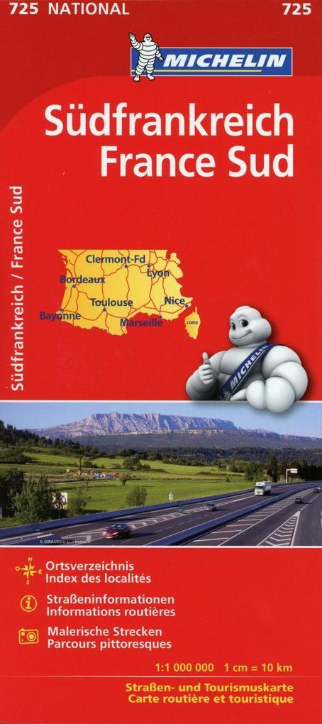 Michelin Südfrankreich 1 : 1 000 000