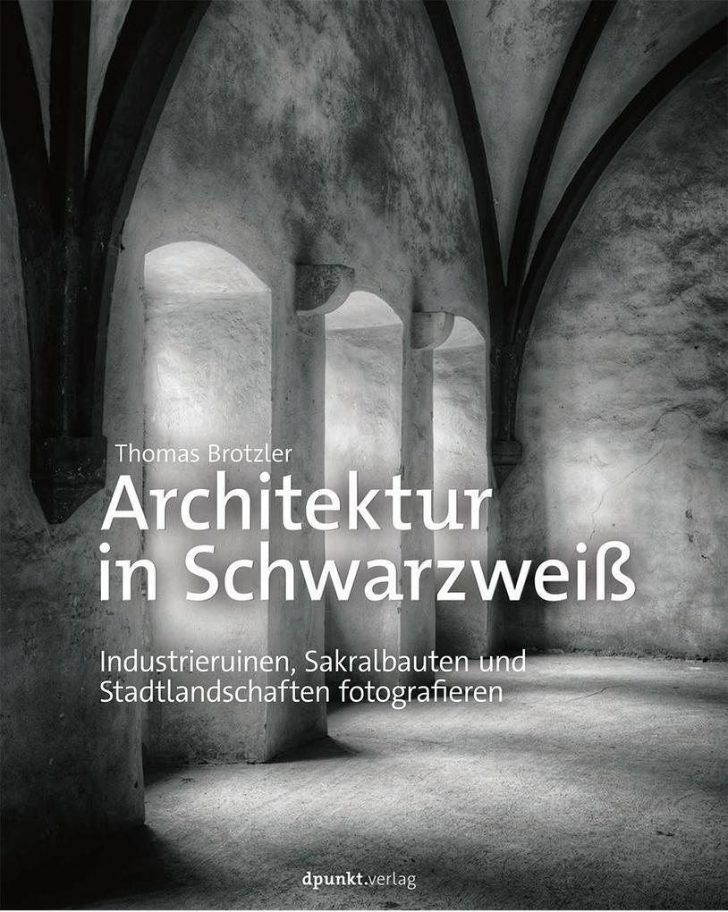 Architektur in Schwarzweiß als Buch