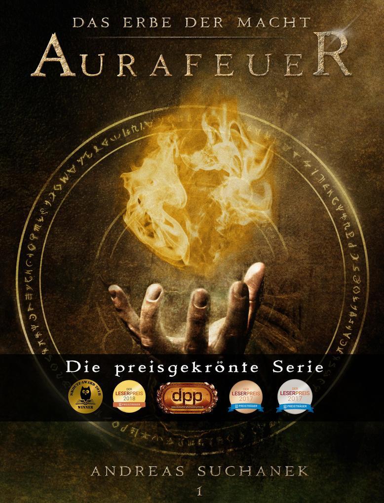 Das Erbe der Macht - Band 1: Aurafeuer (Urban Fantasy) als eBook