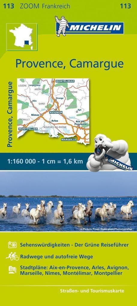 Michelin Zoomkarte Provence - Camargue 1 : 160 000