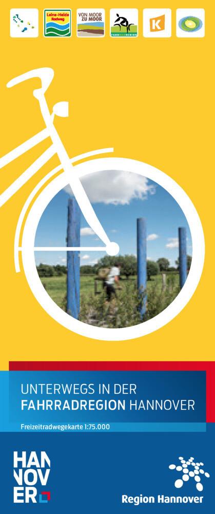Unterwegs in der Fahrradregion Hannover als Buch