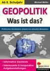 GEOPOLITIK - Was ist das?