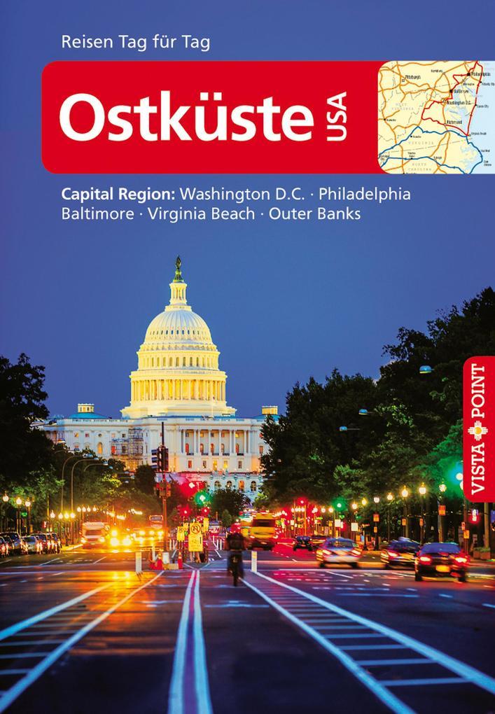 Ostküste USA - VISTA POINT Reiseführer Reisen Tag für Tag als eBook