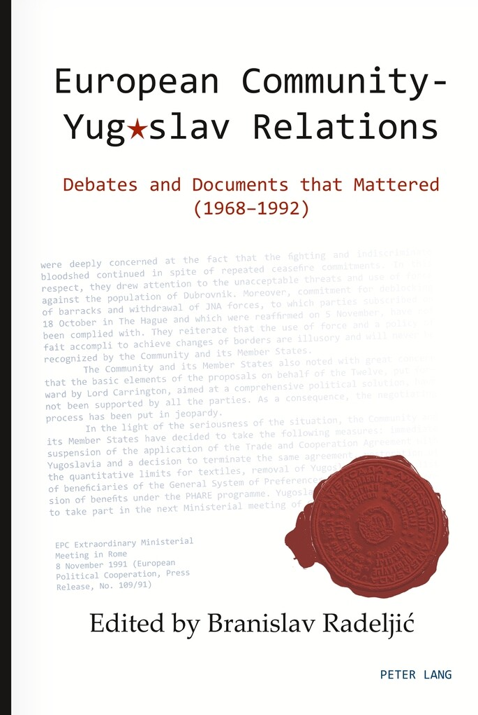 European Community - Yugoslav Relations als Buc...