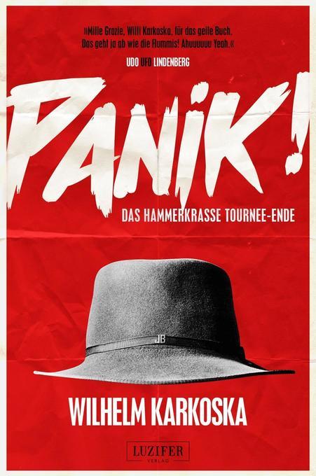 PANIK! - das hammerkrasse Tournee-Ende als Buch