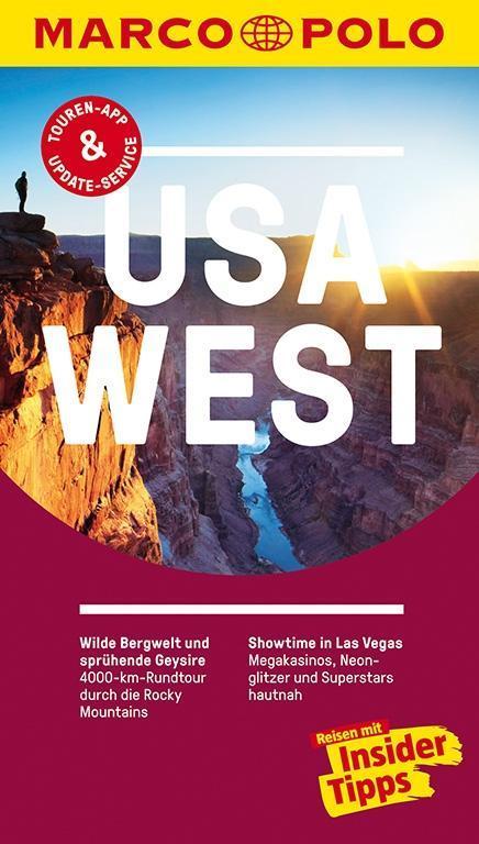 MARCO POLO Reiseführer USA West als Buch
