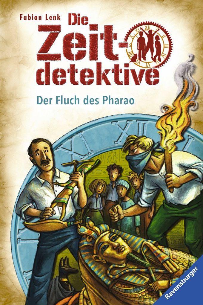 Die Zeitdetektive 36: Der Fluch des Pharao als Buch