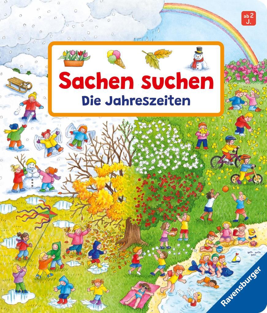 Sachen suchen: Die Jahreszeiten als Buch von Susanne Gernhäuser