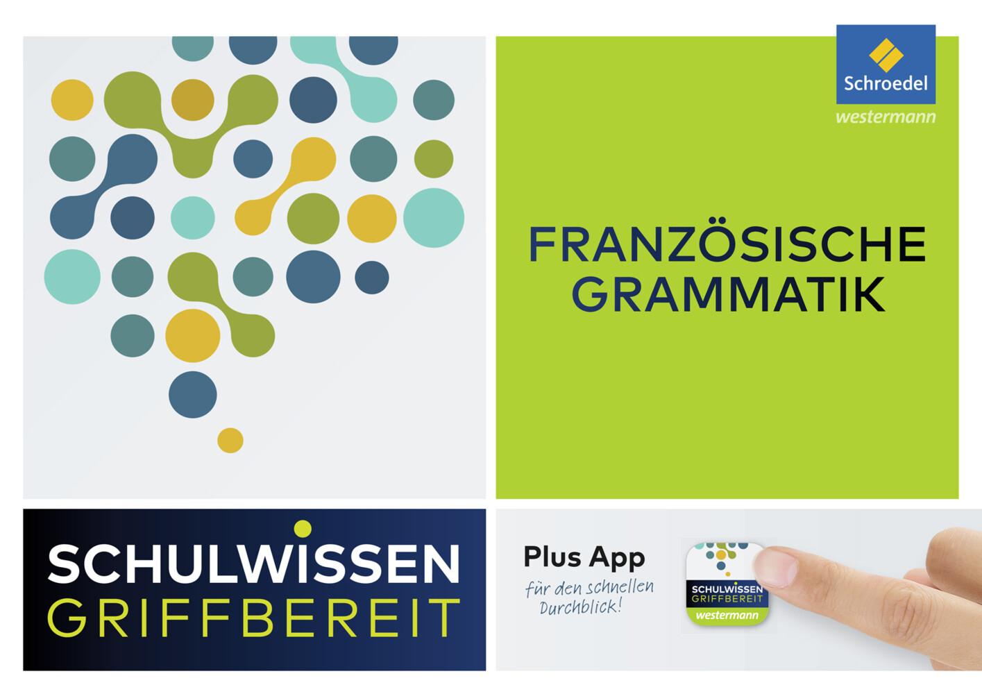Schulwissen griffbereit. Französische Grammatik als Buch