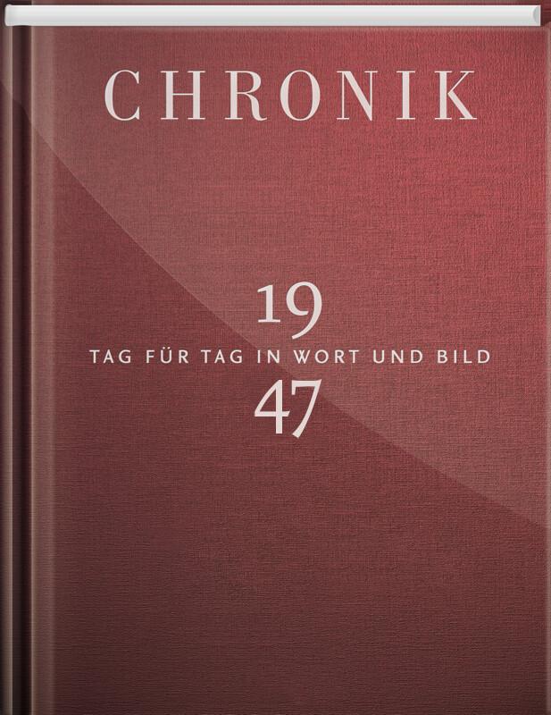Jubiläumschronik 1947 als Buch