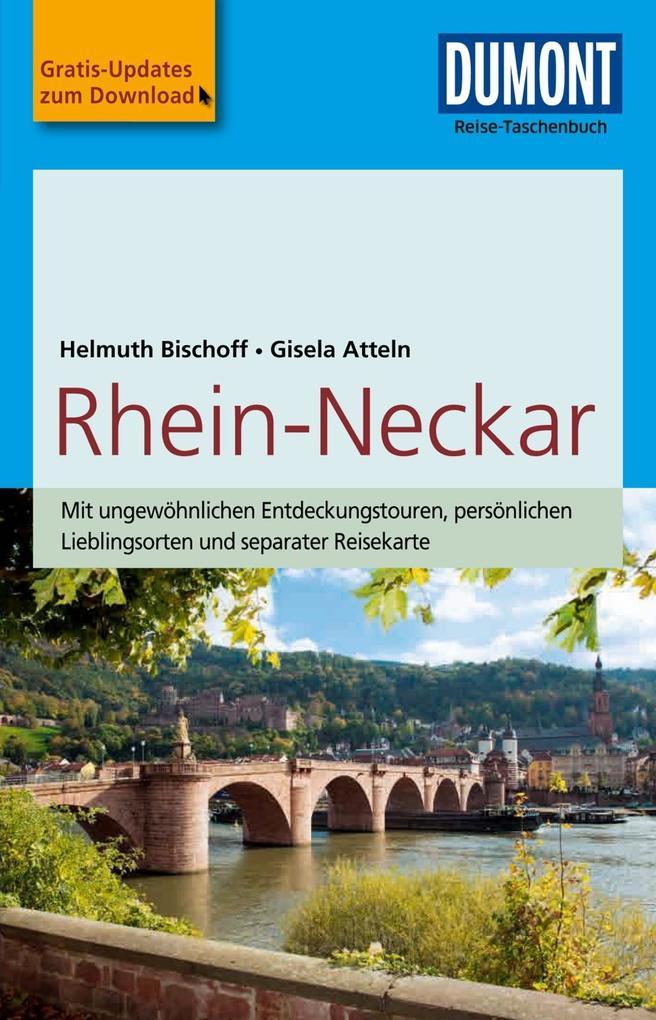 DuMont Reise-Taschenbuch Reiseführer Rhein-Neckar als eBook