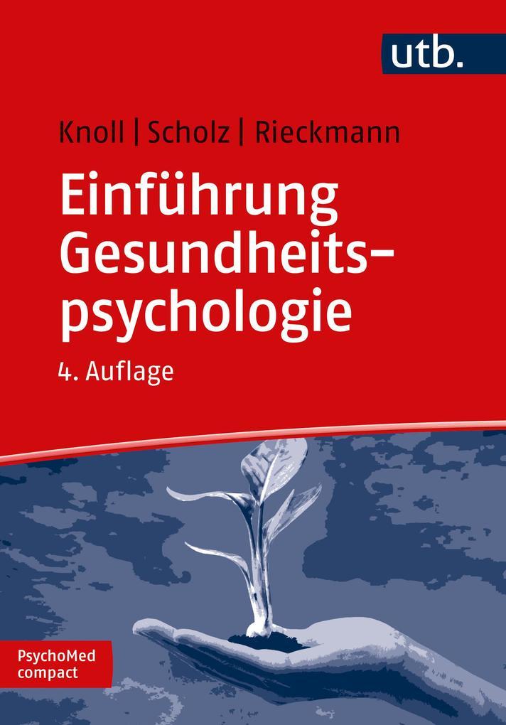 Einführung Gesundheitspsychologie als Buch