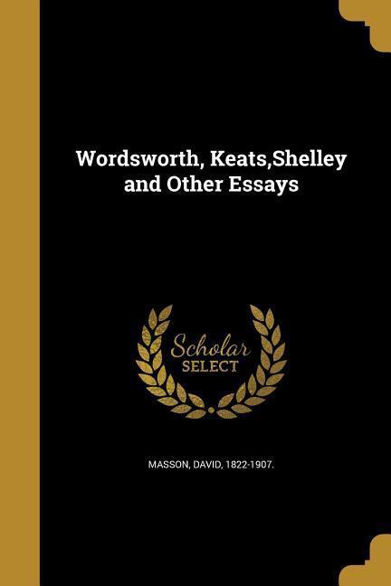 WORDSWORTH KEATS SHELLEY & OTH als Taschenbuch von