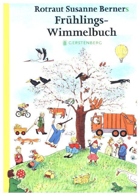 Frühlings-Wimmelbuch - Mini als Buch von Rotraut Susanne Berner
