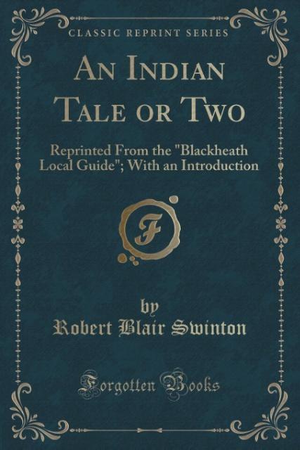An Indian Tale or Two als Taschenbuch von Robert Blair Swinton