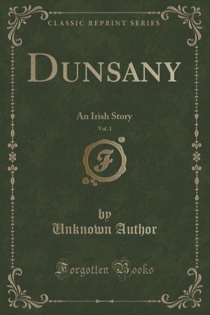 Dunsany, Vol. 1 als Taschenbuch von Unknown Author