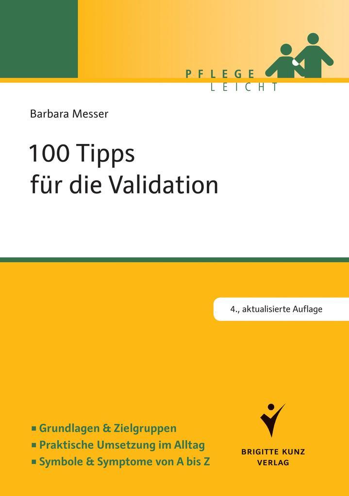 100 Tipps für die Validation als Buch