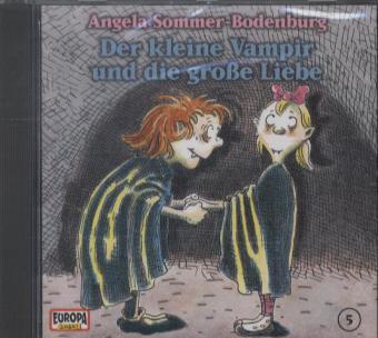 Der kleine Vampir 05. und die große Liebe als Hörbuch