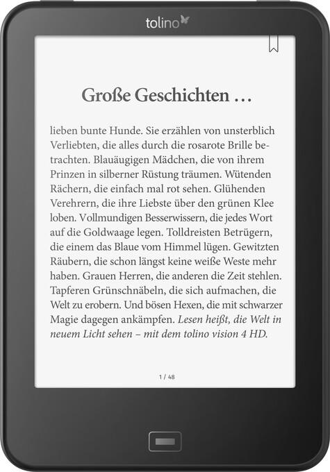 tolino vision 4 HD - eBook Reader