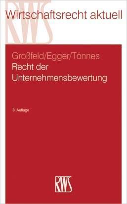 Recht der Unternehmensbewertung als eBook