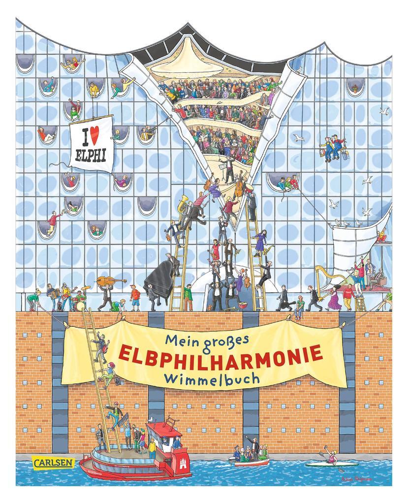 Mein großes Elbphilharmonie-Wimmelbuch als Buch