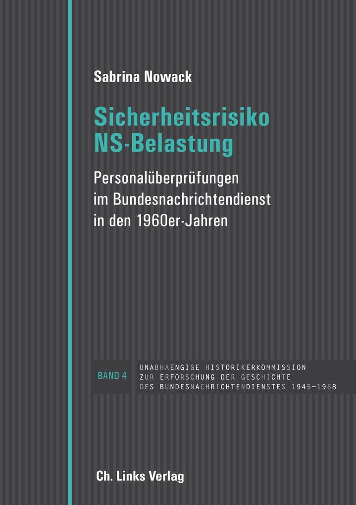 Sicherheitsrisiko NS-Belastung als eBook