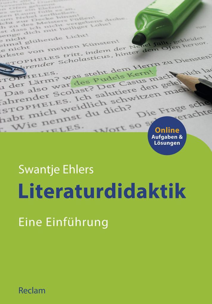 Literaturdidaktik. Eine Einführung als eBook epub