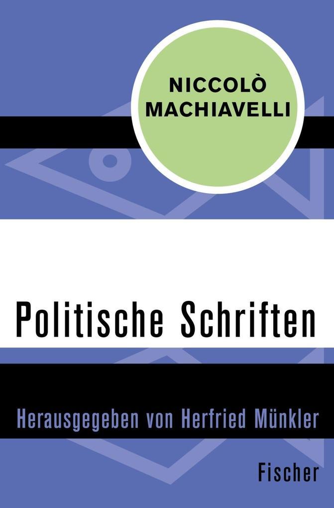 Politische Schriften als Taschenbuch