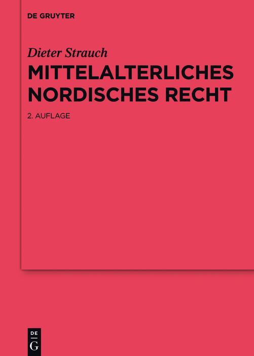 Mittelalterliches nordisches Recht als eBook