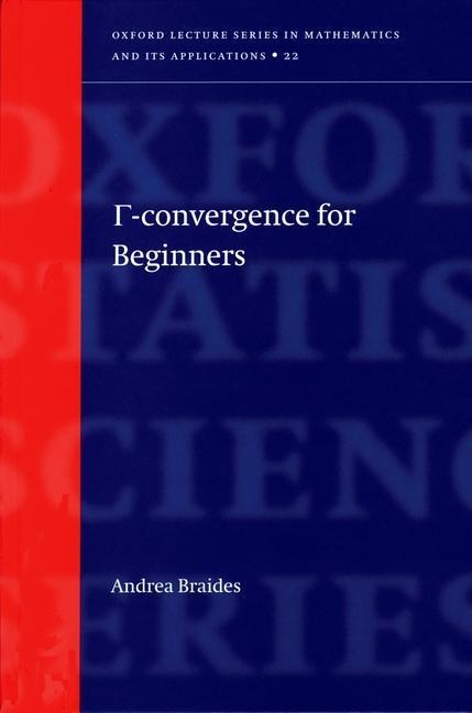 Gamma-Convergence for Beginners als Buch