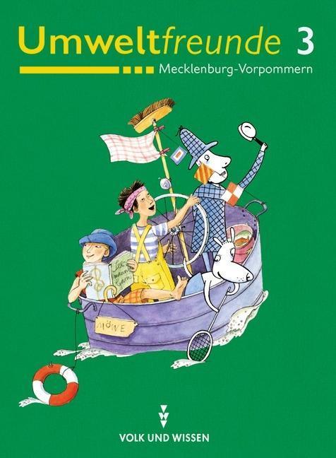 Umweltfreunde 3. Schülerbuch. Mecklenburg-Vorpommern als Buch