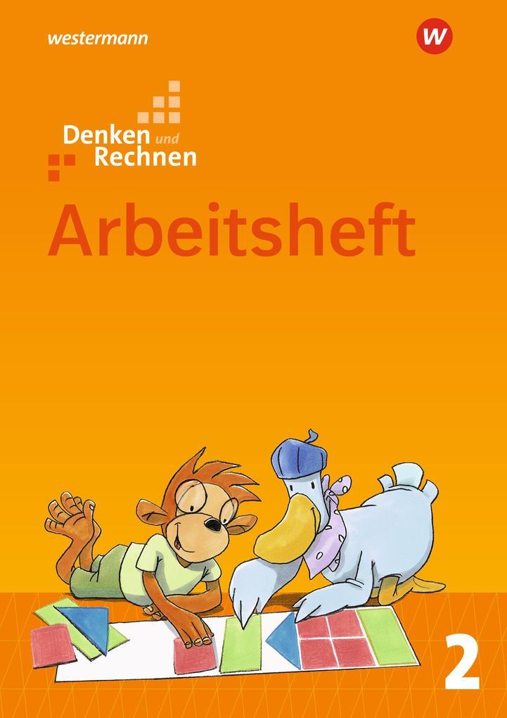 Denken und Rechnen 2. Arbeitsheft. Allgemeine Ausgabe als Buch (geheftet)