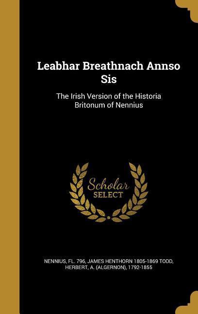 LEABHAR BREATHNACH ANNSO SIS als Buch
