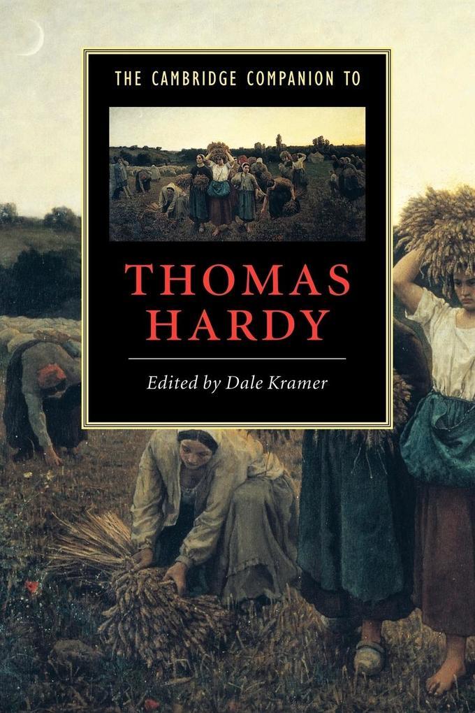 The Cambridge Companion to Thomas Hardy als Buch (kartoniert)