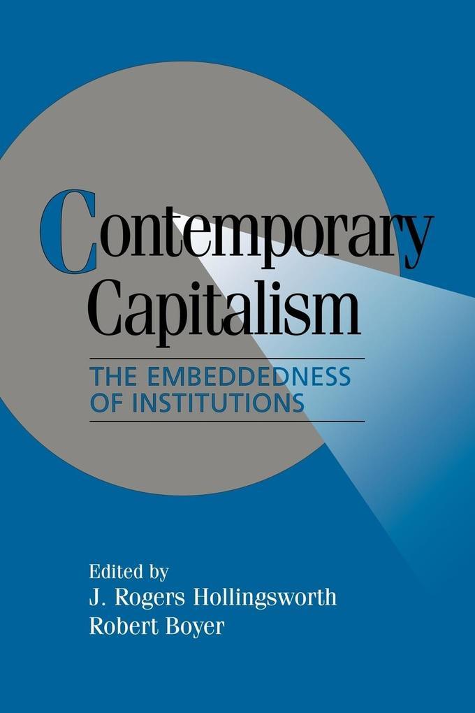Contemporary Capitalism als Buch (kartoniert)