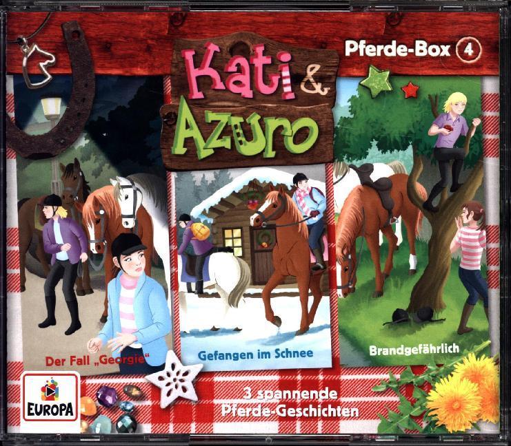 Kati & Azuro Box 04 (Folgen 10, 11 ,12) als Hörbuch CD von