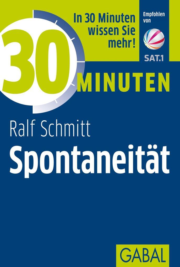30 Minuten Spontaneität als eBook