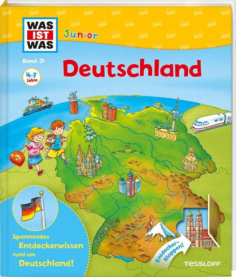 WAS IST WAS Junior Band 31. Deutschland als Buch von Bärbel Oftring
