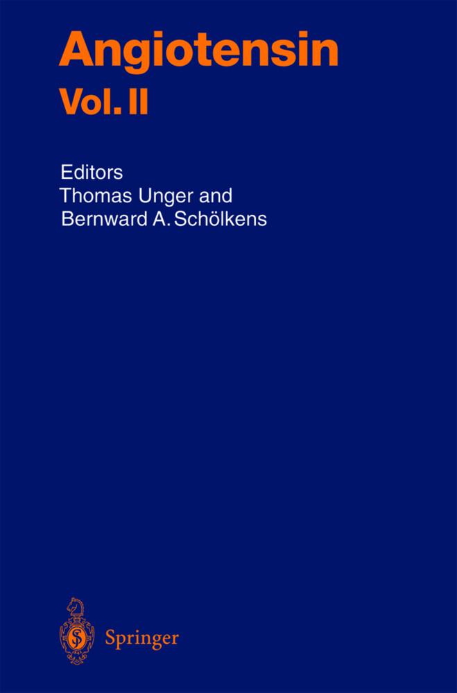 Angiotensin Vol. II als Buch