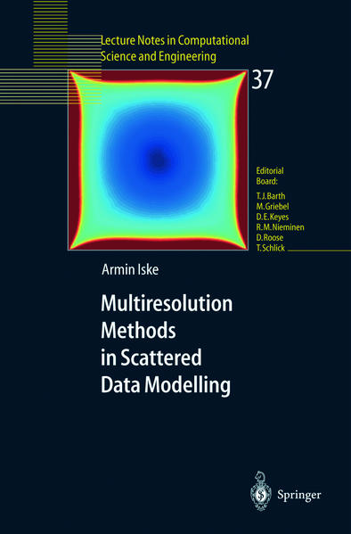 Multiresolution Methods in Scattered Data Modelling als Buch