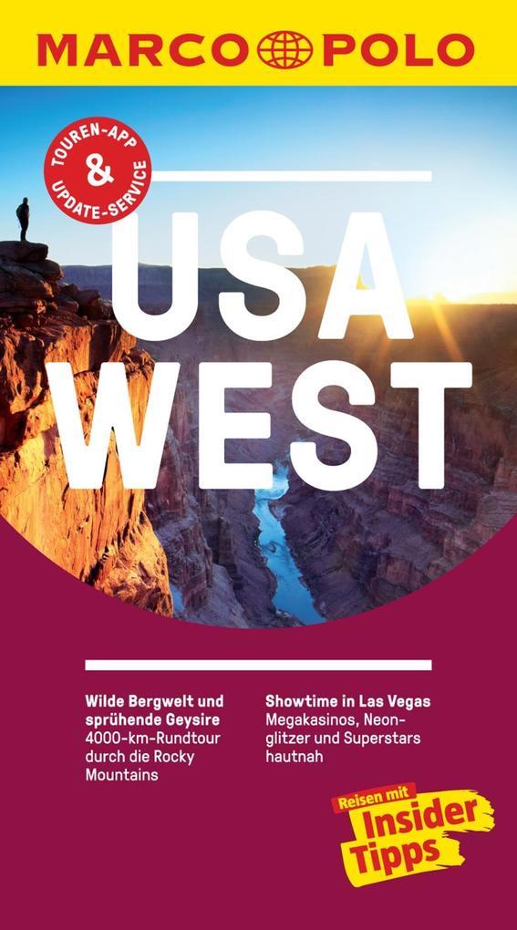 MARCO POLO Reiseführer USA West als eBook
