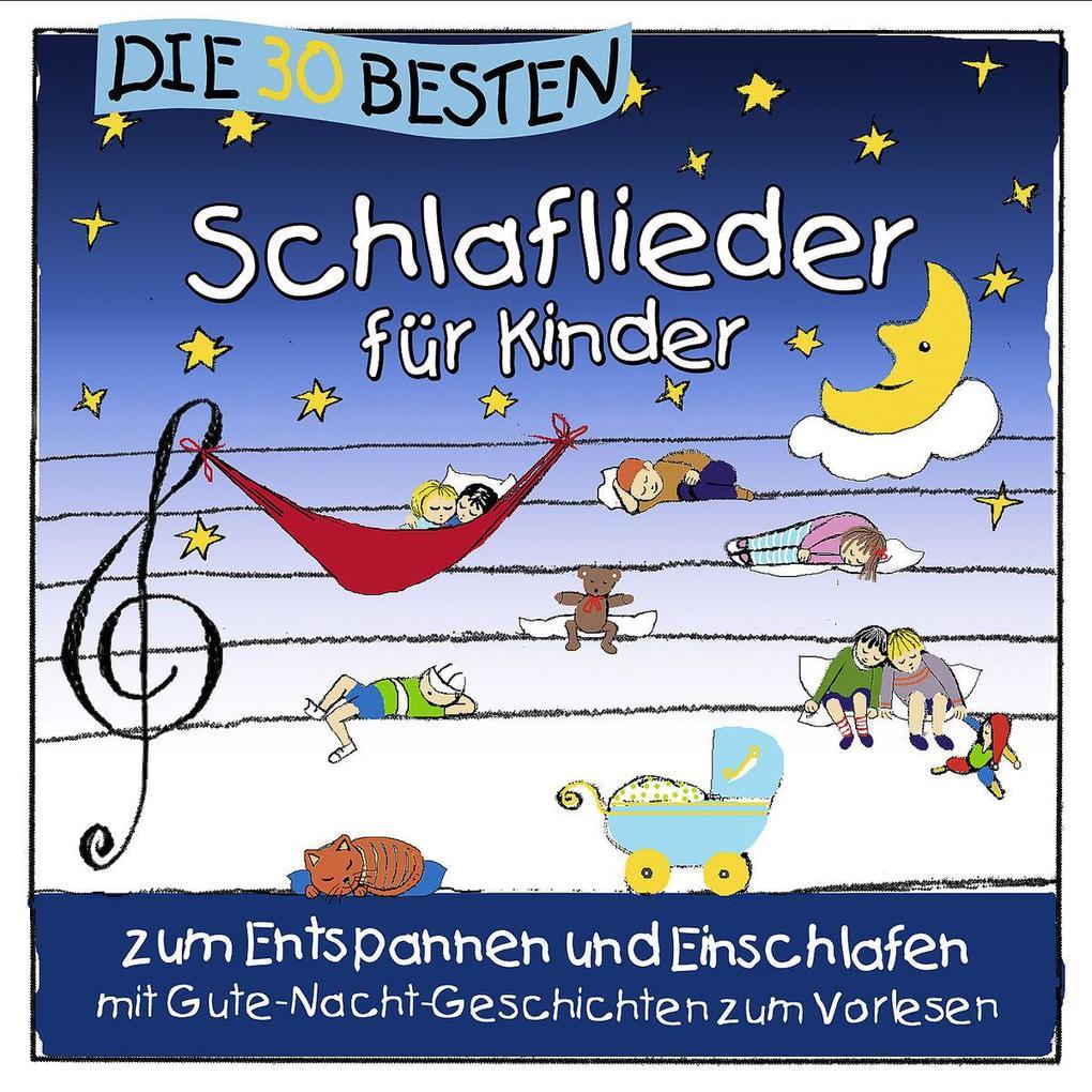 Die 30 besten neuen Schlaflieder für Kinder als CD