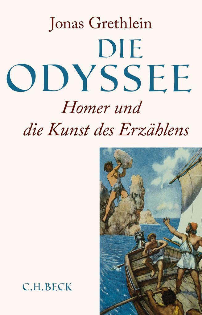 Die Odyssee als Buch