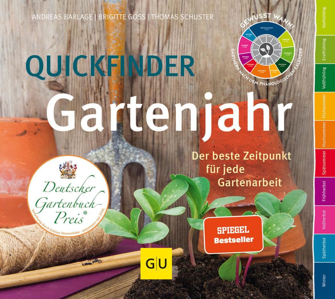 Quickfinder Gartenjahr als Buch von Thomas Schuster, Andreas Barlage, Brigitte Goss