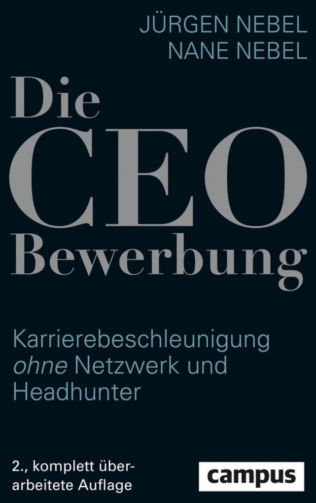 Die CEO-Bewerbung als eBook
