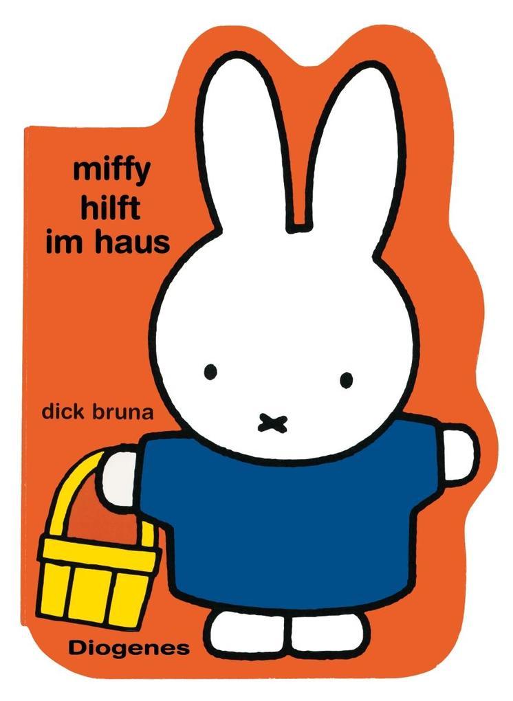 Miffy hilft im Haus als Buch