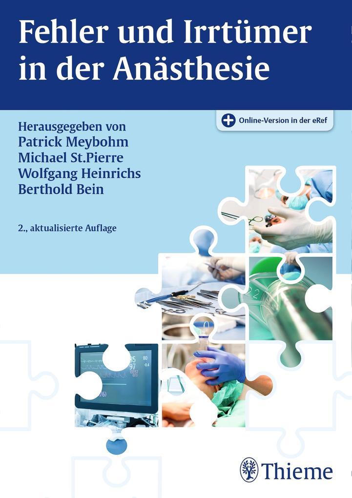 Fehler und Irrtümer in der Anästhesie als eBook