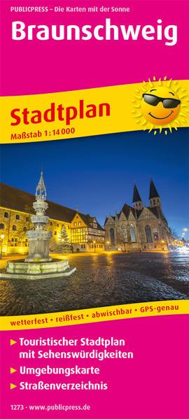 Braunschweig. Stadtplan 1:16 000 als Buch